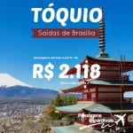 Promoção de passagens para o <b>JAPÃO</b>! Saídas de Brasília para Tóquio, a partir de R$ 2.118, ida e volta!