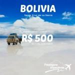 Promoção de passagens para a <b>BOLÍVIA</b>! Saídas de São Paulo para Santa Cruz de la Sierra, a partir de R$ 500, ida e volta! De Agosto/14 a Junho/15!