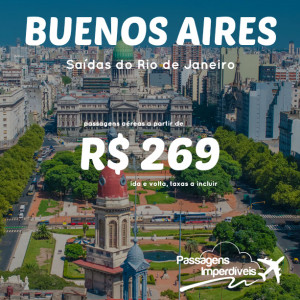 Buenos Aires RJ 269 reais