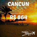 IMPERDÍVEL!!! Promoção de passagens para <b>CANCUN</b>, a partir de R$ 864, ida e volta! Saídas do Rio de Janeiro!