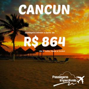 Cancun 864 reais