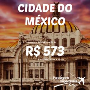 Cidade do Mexico 573 reais