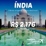 Promoção da <b>ETIHAD</b> para os destinos da <b>ÍNDIA</b>! A partir de R$ 2.176, ida e volta! Saídas de várias cidades brasileiras!