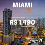 Gol disponibiliza passagens para <b>MIAMI</b>, a partir de R$ 1.490, ida e volta, de Dezembro/14 a Junho/15!