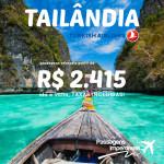 Passagens para a <b>TAILÂNDIA</b> pela <b>TURKISH</b> com desconto no <b>Submarino Viagens</b>! A partir de R$ 2.415, ida e volta, com as TAXAS INCLUÍDAS!