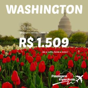 Washington 1509 reais