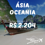 Ela voltou! Promoção de passagens para os destinos da <b>ÁSIA</b> e <b>OCEANIA</b>: Tailândia, Cingapura, Índia, China e mais, a partir de R$ 2.204, ida e volta!