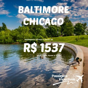 Baltimore Chicago R$ 1537