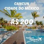 Acharam que tinha acabado? Os trechos da Aeroméxico estão em promoção também para <b>CANCUN</b> e <b>CIDADE DO MÉXICO </b>! A partir de R$ 200, ida e volta!