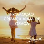 IMPERDÍVEL!!! Na <b>TAM</b>, em outubro, as crianças viajam <b>DE GRAÇA</b>!