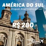IMPERDÍVEL!!! IMPERDÍVEL!!! Promoção de passagens para <b>BUENOS AIRES</b>, <b>SANTIAGO</b> e mais! A partir de R$ 280, ida e volta!