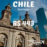 IMPERDÍVEL!!! Promoção de passagens para <b>SANTIAGO</b>, no Chile, a partir de R$ 443, ida e volta! Saídas do Rio de Janeiro e de São Paulo, para viajar em 2015!
