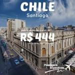 Os valores estão ainda mais baixos! Passagens para <b>SANTIAGO</b>, saindo do Rio de Janeiro, a partir de R$ 444, ida e volta! Viaje em Janeiro/15!
