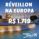 Passagens para a Europa em <b>Dezembro e Janeiro</b> – inclusive <b>Réveillon</b>! <b>MADRI</b>, a partir de R$ 1.719, ida e volta, com opções de <b>VOO DIRETO</b>!