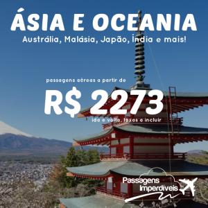 asia oceania 2273 reais