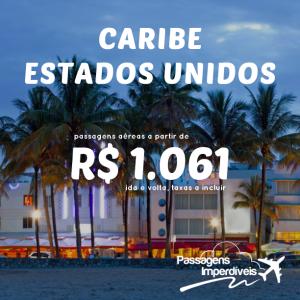 caribe estados unidos 1061 reais