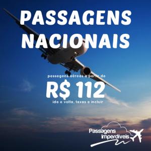 passagens nacionais 112 reais