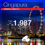 Promoção de passagens da <b>DELTA</b> para <b>CINGAPURA</b>! A partir de R$ 1.987, ida e volta, para viajar de Janeiro a Maio/2015!