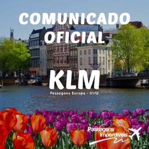 Comunicado Oficial KLM