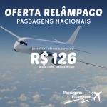 <b>Promoção Relâmpago da Gol</b>! Passagens Nacionais, a partir de R$ 126, ida e volta! Para viajar em Dezembro/14 e Janeiro/15!