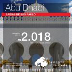Passagens baratas para <b>ABU DHABI</b>! A partir de R$ 2.018, ida e volta, com saídas de São Paulo!