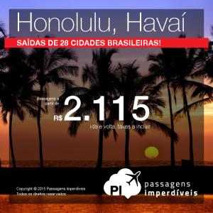 honolulu havai 2115 reais