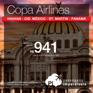 copa airlines 941 reais