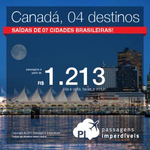 canada 04 destinos 1213 reais