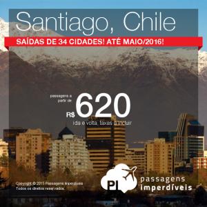 santiago chile 620 reais