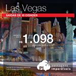 Promoção de Passagens para <b>Las Vegas</b>! A partir de R$ 1.098, ida e volta! R$ 1.549 ida e volta com taxas incluídas!