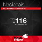 BLACK FRIDAY 2015: Seleção de <b>Passagens Nacionais</b> com desconto, a partir de R$ 116, ida e volta!