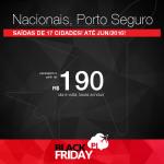 BLACK FRIDAY 2015 – NACIONAIS: passagens para <b>PORTO SEGURO</b> de Dez/2015 até Jun/2016! A partir de R$ 190, ida e volta; a partir de R$ 278, ida e volta, COM TAXAS INCLUÍDAS, em até 10x sem juros!