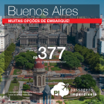 FEIRÃO GOL: Promoção de Passagens para a <b>ARGENTINA: Buenos Aires</b>! A partir de R$ 377, ida e volta; a partir de R$ 875, ida e volta, COM TAXAS INCLUÍDAS! Saídas de várias cidades!