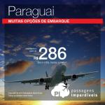 IMPERDÍVEL!!! Promoção de Passagens para <b>Paraguai: Assunção</b>! A partir de R$ 286, ida e volta; a partir de R$ 570, ida e volta, COM TAXAS INCLUÍDAS!