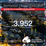 <b>CLASSE EXECUTIVA</b> para a <b>EUROPA</b>: Promoção de Passagens da LATAM para a <b>Alemanha: Frankfurt</b>! A partir de R$ 3.952, ida e volta; a partir de R$ 4.845, ida e volta, COM TAXAS INCLUÍDAS, em até 5x sem juros!
