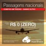 ATENÇÃO! Azul disponibiliza <b>TRECHOS NACIONAIS</b> de R$ 0,00 em seu site, para voar em Agosto/2016!