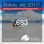 Promoção de Passagens para <b>Bolivia: Santa Cruz de La Sierra</b>! A partir de R$ 683, ida e volta; a partir de R$ 935, ida e volta, COM TAXAS INCLUÍDAS!