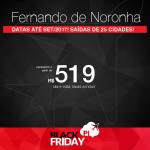 Black Friday 2016 – Promoção de Passagens para <b>FERNANDO DE NORONHA</b>! A partir de R$ 519, ida e volta, saindo de Recife; a partir de R$ 634, ida e volta, saindo de outras 24 cidades brasileiras!