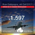 Promoção de Passagens para as <b>ILHAS GALÁPAGOS</b>! A partir de R$ 1.597, ida e volta; a partir de R$ 2.335, ida e volta, COM TAXAS INCLUÍDAS, em até 4x sem juros!