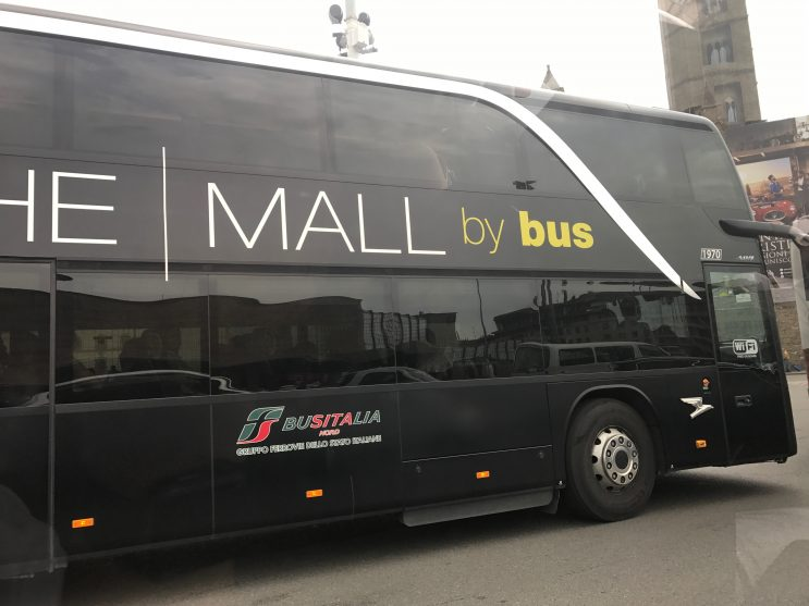 Ônibus Executivo - The Mall - The Luxury Outlet, Florença