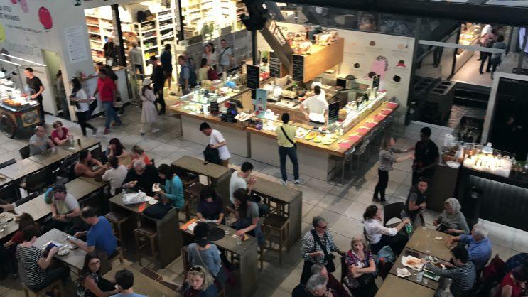 Mercado Central de Florença - Mercado Centrale Firenze