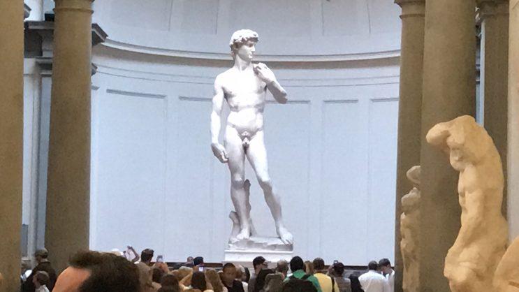 Galleria dell'Accademia, Firenze - David, de Michelangelo