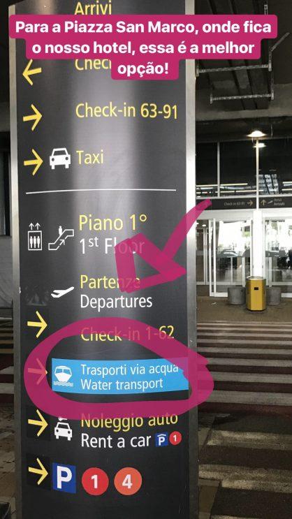 Dicas do que fazer em Veneza: Do aeroporto Marco Polo até Veneza: como chegar