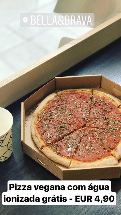 O que fazer em Veneza: dicas de onde comer: Pizza Bella & Brava