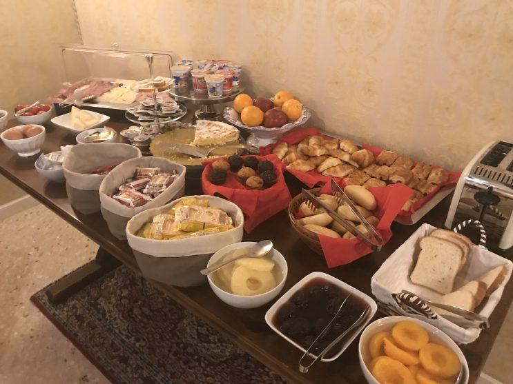 Café da manhã do Hotel Dimora Marciana