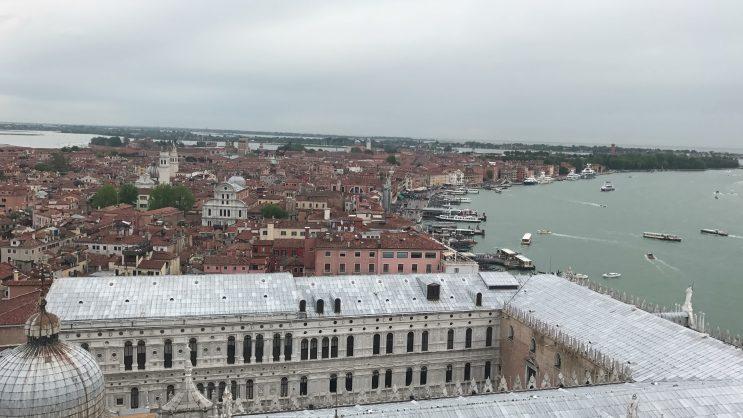 Campanile - Vista da Torre da Basílica de San Marco