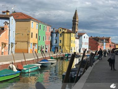 ilha burano em veneza