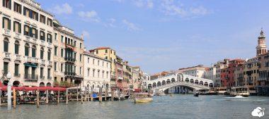 grand canal de veneza e ponte rialto