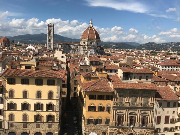 Vista do alto da Torre do Palazzo Vecchio, Florença