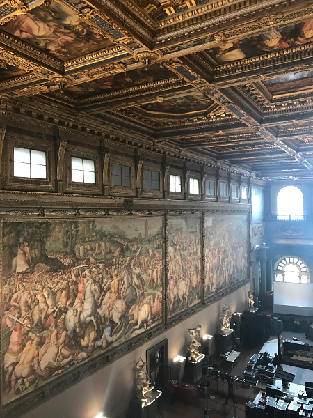 A Sala dos Quinhentos, Palazzo Vecchio